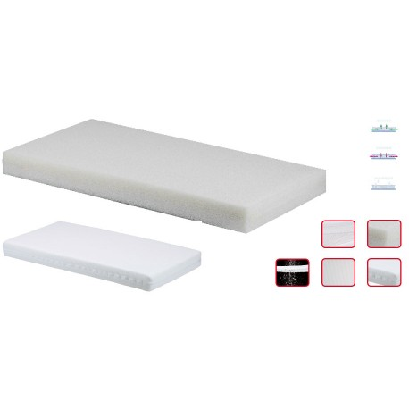 Colchón de Espuma 3D Impermeable y Transpirable