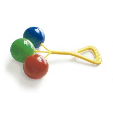 Sonajero clásico de tres bolas
