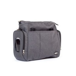 Bolso para Easy Twin gris antracita