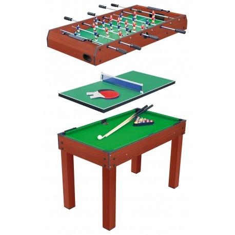 Mesa multi-juego 3 en 1 para niños