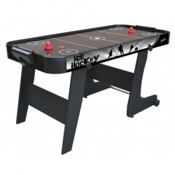 Mesa Airhockey Black City Plegable