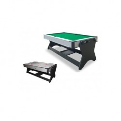 Multijuegos Giratorio Airhockey & Billar