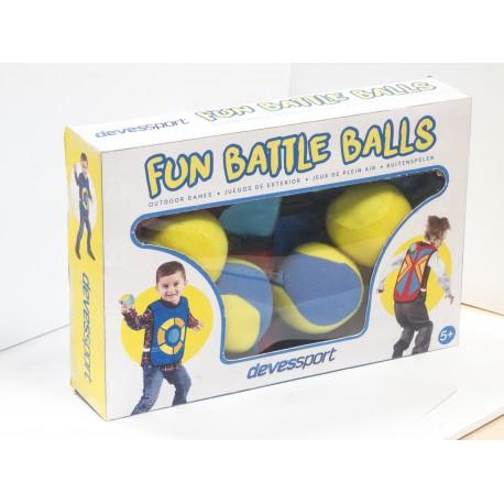 Chaleco con velcro y bolas para niños
