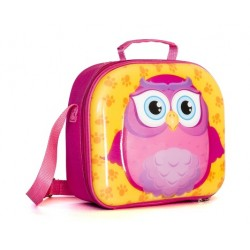 Lunch Box Pink Owl