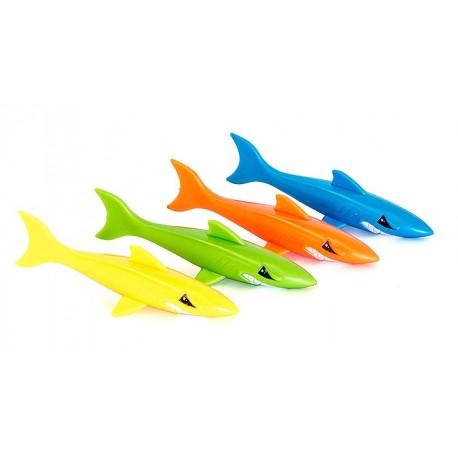 Tiburones de Colores Baño
