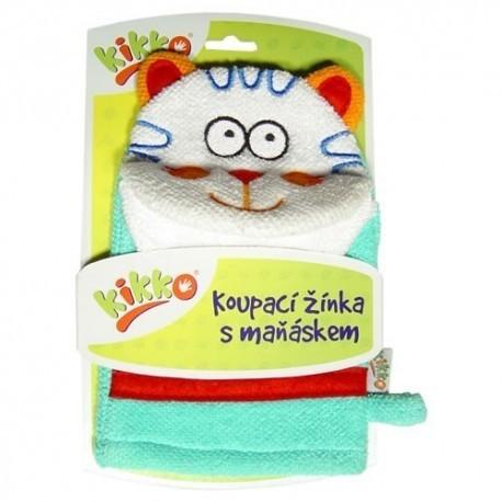 Manopla de Baño Cat