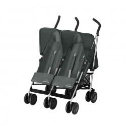 Silla de paseo gemelar - Simba Twin T4 - gris