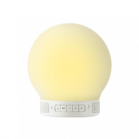 Emoi - Mini Lámpara Redonda + altavoz BT