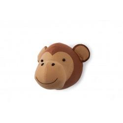 Cabeza animal fieltro - Mono