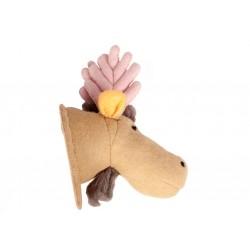 Cabeza animal fieltro - Alce