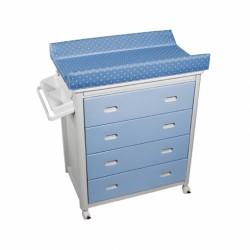Bañera cajones Azules Topos Azules