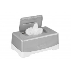 Porta pañuelos Silver abierto