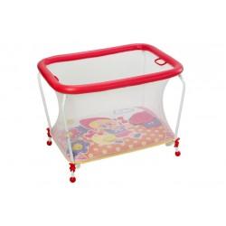 Parque para bebés con manta de juegos