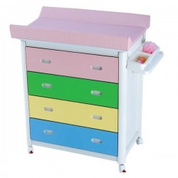 Baby Bath + Changing Unit multicolour