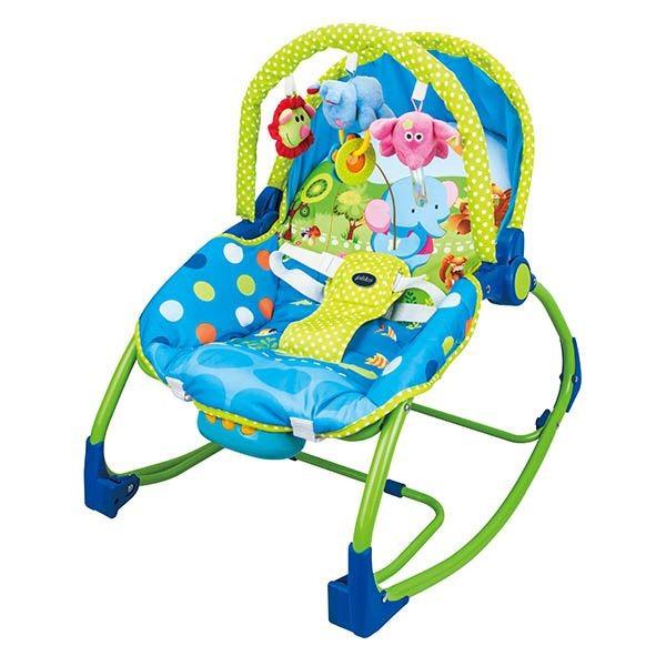 a6aace618 Hamaca para bebe Plastimyr modelo mecedora 814. Tumbona infantil con  diferentes melodías y vibración