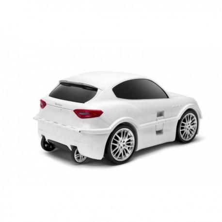 Maleta para niños Maserati Blanca