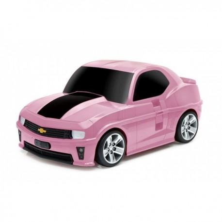 Maleta Chevrolet Camaro Rosa Ridaz