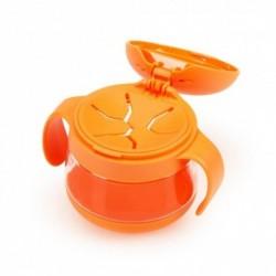 Taza para Snacks Naranja Ubbi