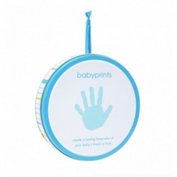Lata Azul Babyprints Pearhead En Display Con 6 Unidades
