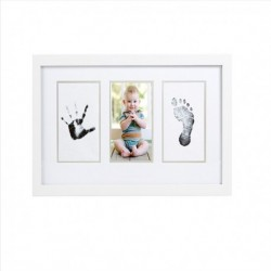Marco Pared Babyprints Blanco Pearhead (Sin Texto)