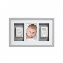 Marco Pared Babyprints Deluxe Gris Pearhead