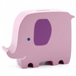 Hucha De Madera Elefante Pearhead