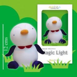 Luz de compañía Pingüino